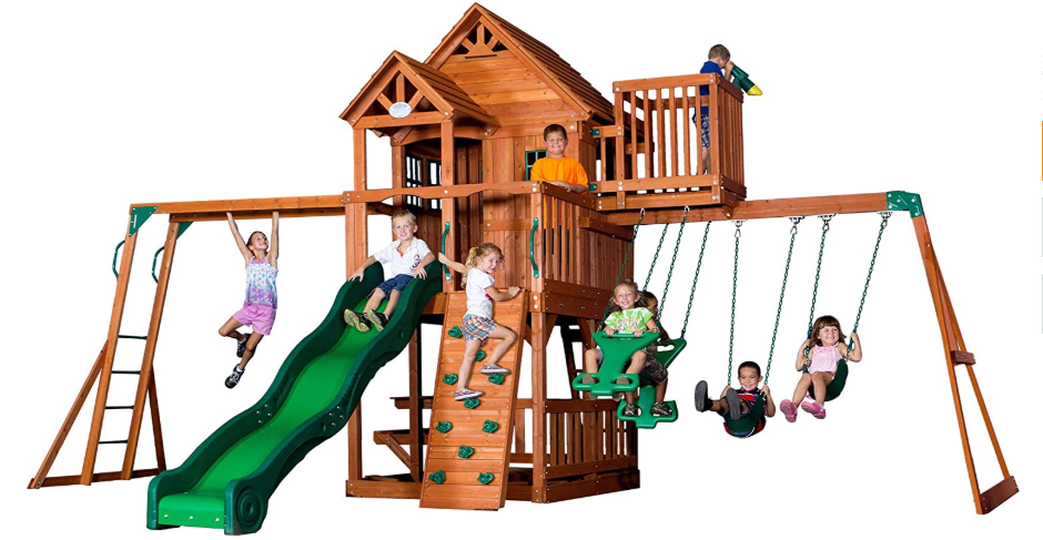 9 Best Wooden Climbing Frames in the UK